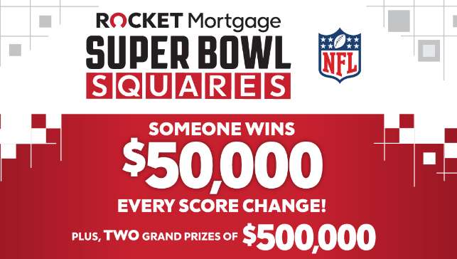 Rocket Mortgage Squares Sweepstakes
