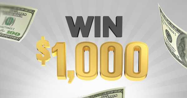 iHeartRadio $1000 Dollar Giveaway