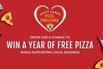 Free Pizza for a Year Giveaway