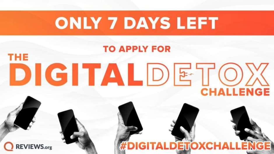 Reviews.org Digital Detox Contest