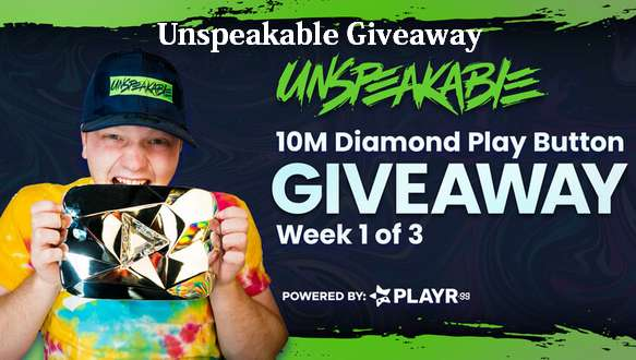 Unspeakable Giveaway