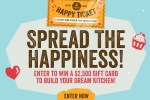 Incredo Spread the Happiness Sweepstakes (101 Winners)