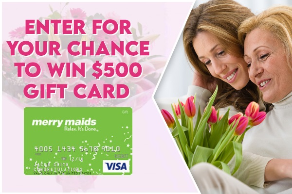 Merry Maids $1000 Gift Card Giveaway