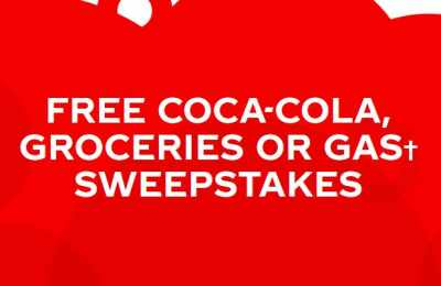 Coca Cola Groceries or Gas Sweepstakes