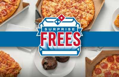 Domino's Surprise Frees Giveaway