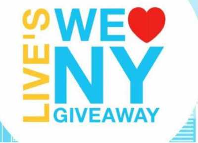 LIVE's We Love New York Giveaway