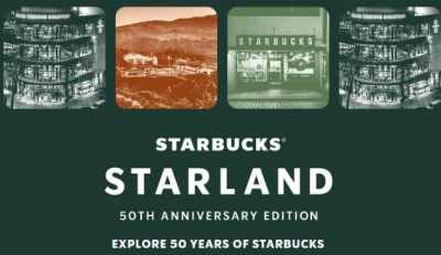 Starbucks Rewards Starland 50th Anniversary Edition Sweepstakes