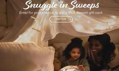 Bassett Snuggle In Giveaway