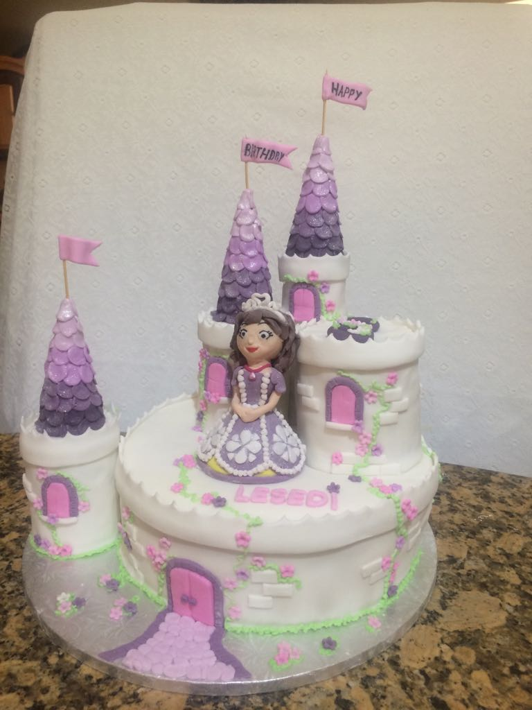Castle Cake for Girl