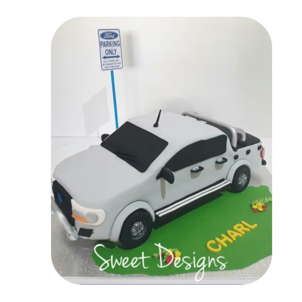 Ford Ranger Birthday Cake