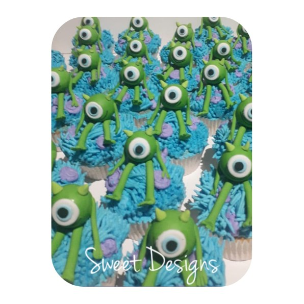 Monster Inc. Cupcakes