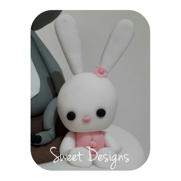 Cake Topper Little Rabbit