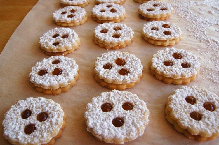 Kekse abdeckeln