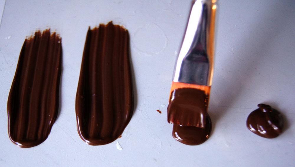 Schokolade verstreichen