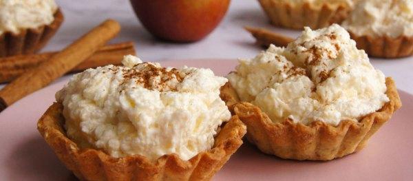 Vanillekipferl-Apfel-Zimt-Tartelettes