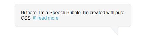 speech bubble image