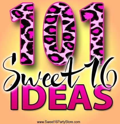101 Sweet 16 Party Ideas Sweet 16 Party Store