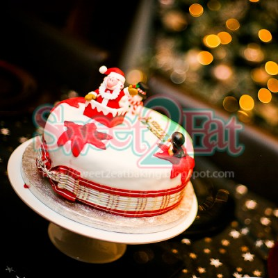 Traditional Christmas Fruit Cake