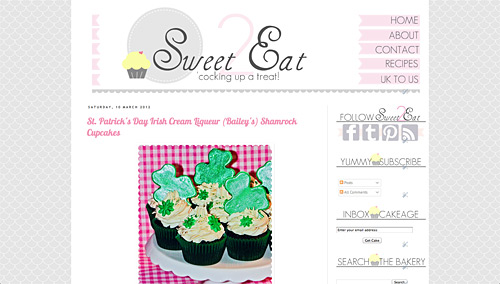 Sweet 2 Eat Baking new website