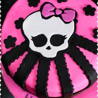 Monster High Skull Birthday Cake