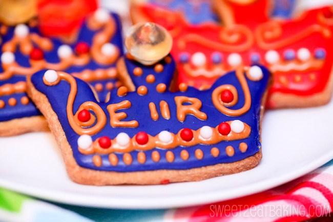 Diamond Jubilee Royal Crown Cookies