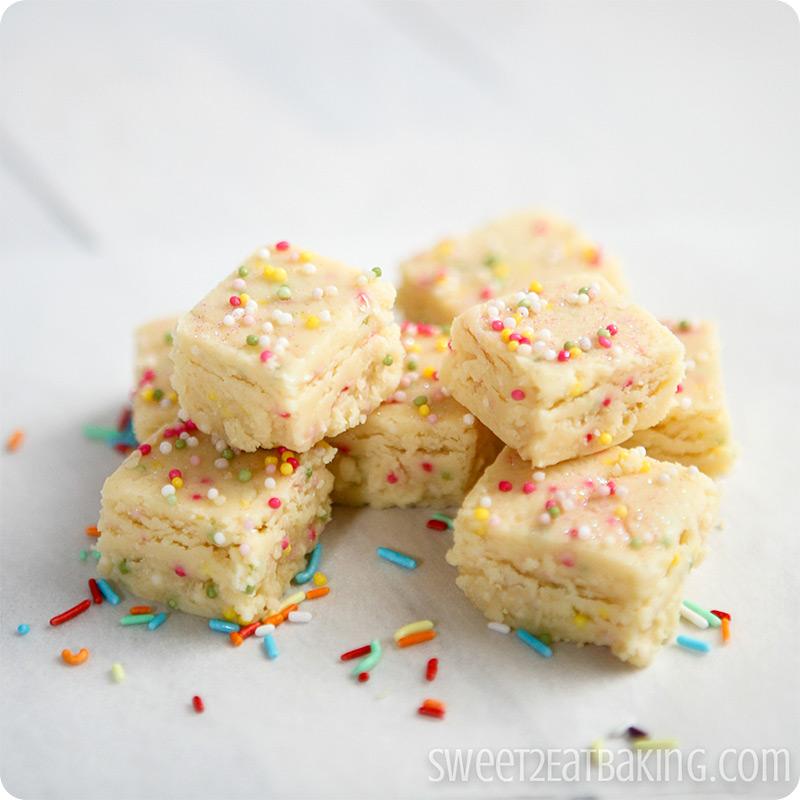 Cake Batter Fudge Recipe Uk