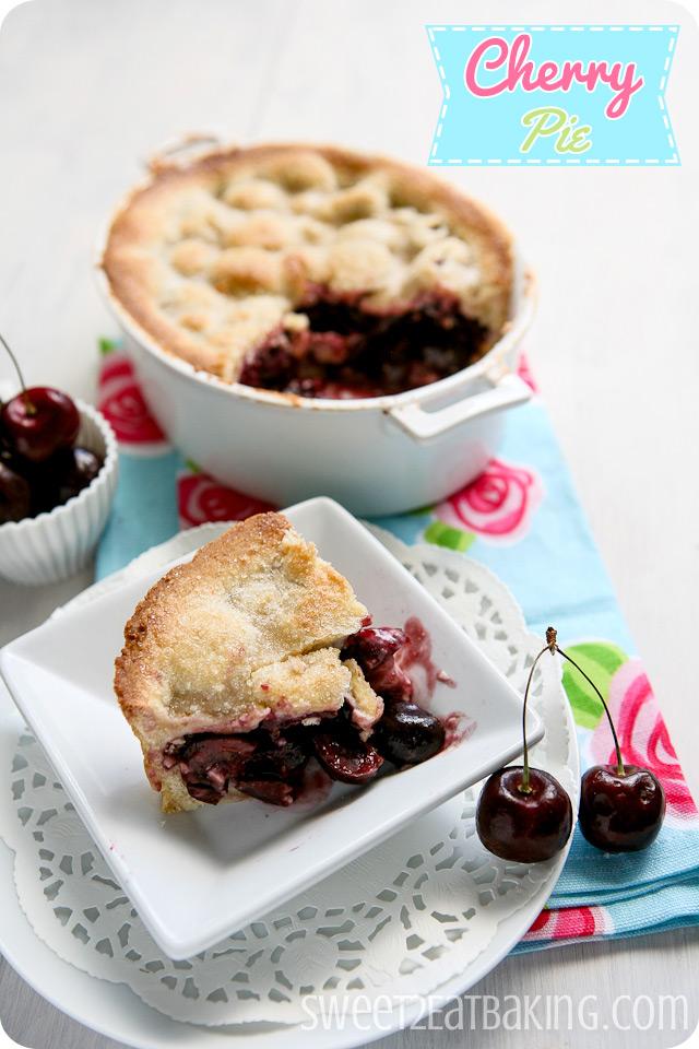 Traditional Cherry Pie Recipe by Sweet2EatBaking.com
