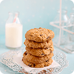 Spiced Chewy Oat & Sultana Cookies Recipe