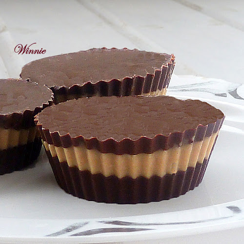 Homemade Peanut Butter Cups by Winnie