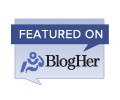 Featured on BlogHer.com