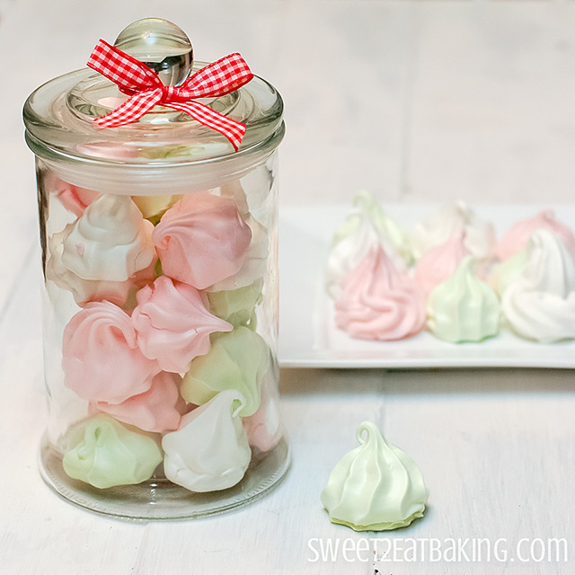 Meringue Kisses by Sweet2EatBaking.com