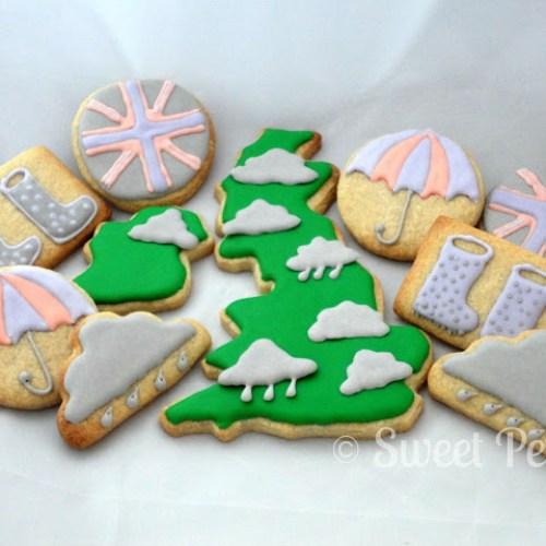 British Weather Cookies