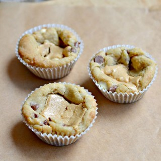 Peanut Butter Chocolate Chip Cookie Cups Recipe