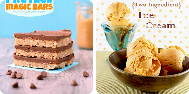 No Bake Peanut Butter Pretzel Magic Bars | [two ingredient] Thai Tea Ice Cream