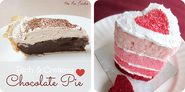 Chocolate Pie | '50 Shades of Pink' Mini Ombre Cake