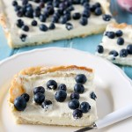 Blueberry and Lemon Curd Cream Tart Recipe