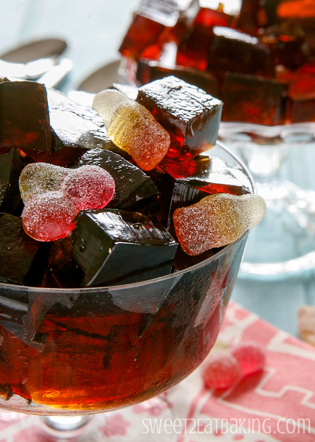 Cherry Coke Jello