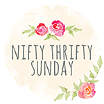 Nifty Thrifty Sunday Link Party