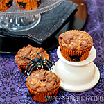 Pumpkin Streusel Muffins Recipe by Sweet2EatBaking.com