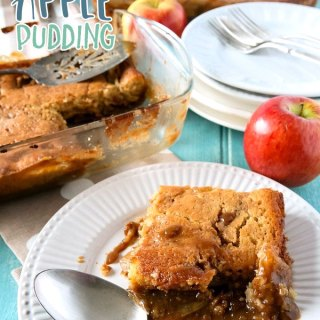 Toffee/Caramel Apple Pudding