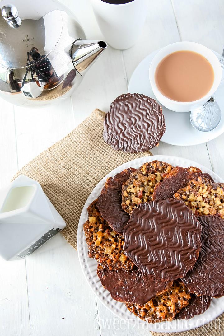 Florentine Cookies Recipe by Sweet2EatBaking.com