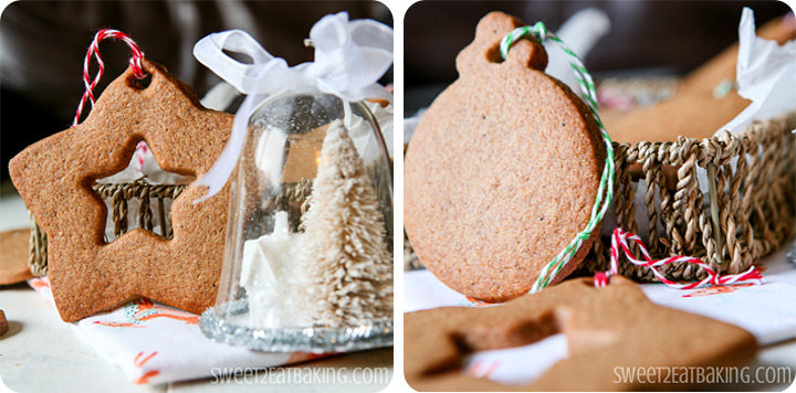 Speculoos Christmas Decoration Cookies by Sweet2EatBaking.com #speculoos #cookies #christmas #recipe