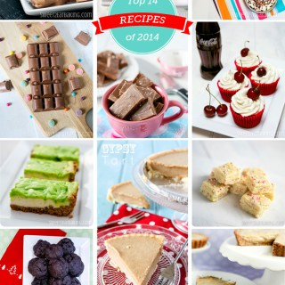 Top 14 Recipes of 2014 from Sweet2EatBaking.com
