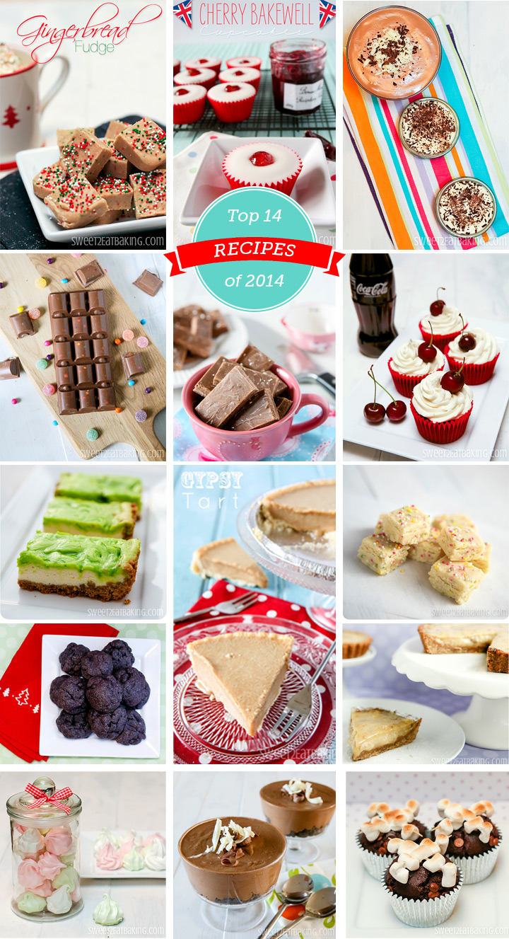Top 14 Recipes of 2014 on Sweet2EatBaking.com