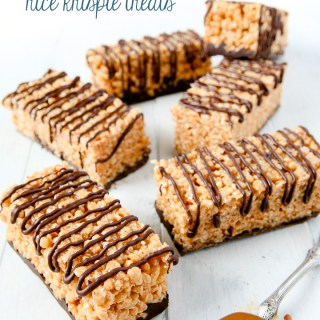 Samoa Rice Krispie Treats