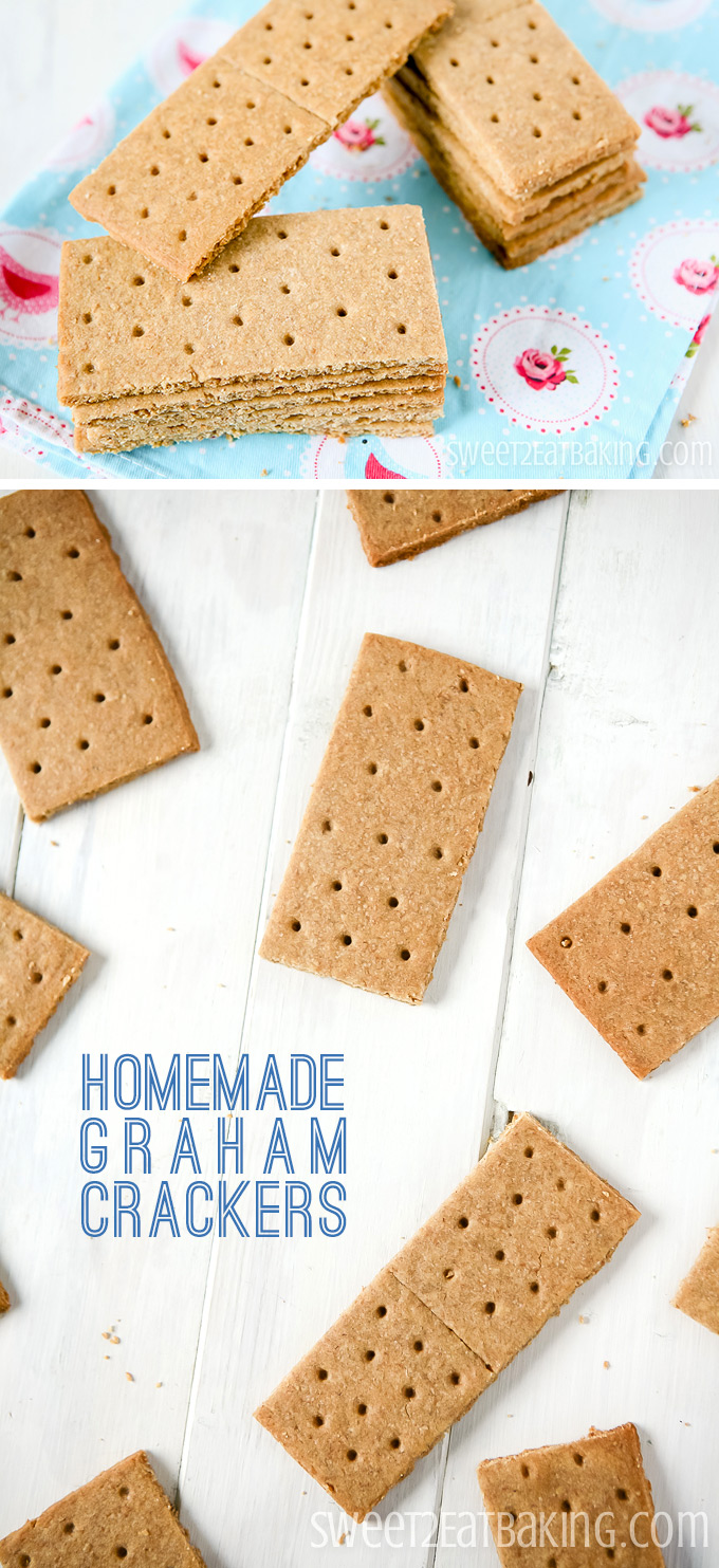Homemade/Copycat Graham Crackers Recipe by Sweet2EatBaking.com