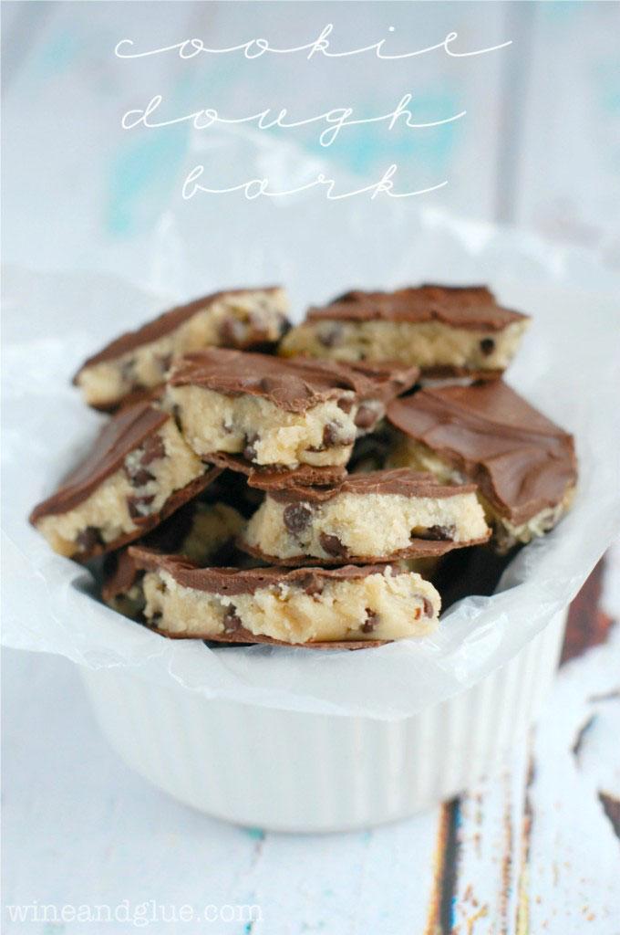 Cookie Dough Bark Recipe