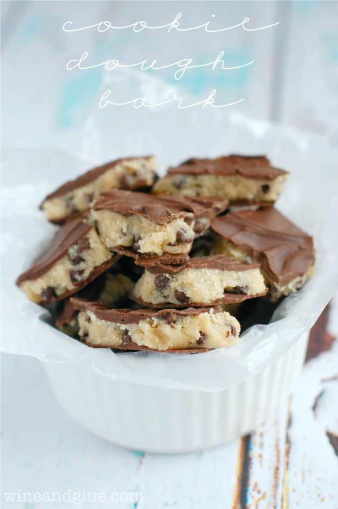 Cookie Dough Bark Recipe
