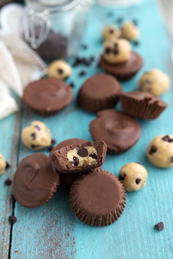 Cookie Dough Chocolate Cups Recipe