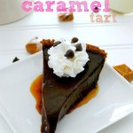Gooey Chocolate Caramel Tart Recipe on Sweet2EatBaking.com
